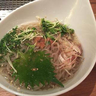 冷麺(麻布十番焼肉Kintan (キンタン))