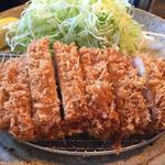 ロースかつ膳「竹」130g(ご飯・味噌汁・お新香付き)(とんかつ武信)