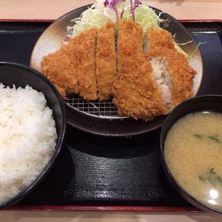 ロースカツ&チキンムネ肉(松乃家 名谷店 )
