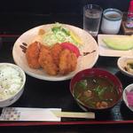 カキフライ定食(串よし )