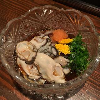 牡蠣ポン酢(輪だち )