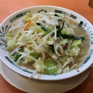 野菜たっぷりタンメン(日高屋 豪徳寺駅前店)