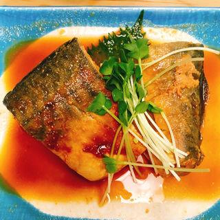 鯖味噌定食(三州屋)