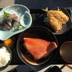金目の煮つけ定食(福浦漁港 みなと食堂 )