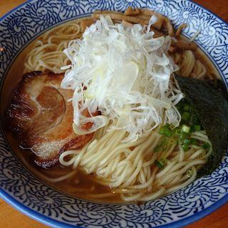醤油ラーメン(門つる )