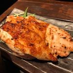 大山鶏の香味刺身ステーキ定食(白銀屋 (スミビヤキセンモンショクドコロシロガネヤ))