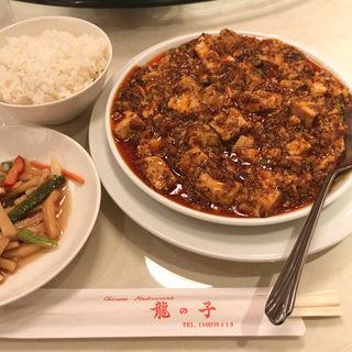 麻婆豆腐定食 おかず大盛(龍の子 )