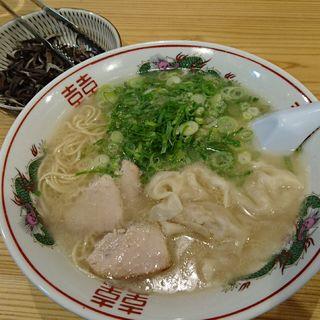 炊き餃子ラーメン(まさちゃんラーメン)