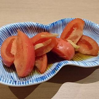 トマトニンニク(博多餃子 チャオズ)