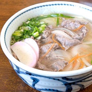肉うどん(矢田うどん (やだうどん))