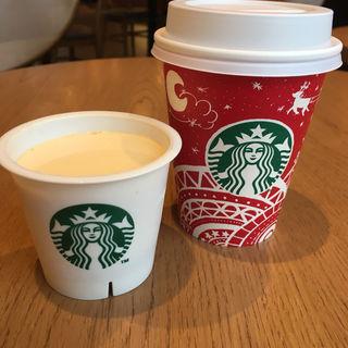 カスタードプリン(スターバックスコーヒー 北生駒ならやま大通り店 (STARBUCKS COFFEE))