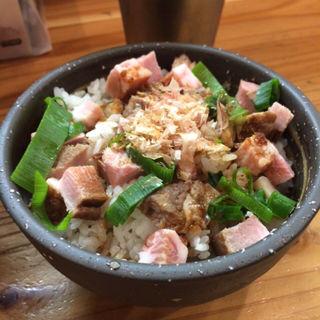 大人のチャーシュー丼(極麺 青二犀 (ゴクメン アオニサイ))