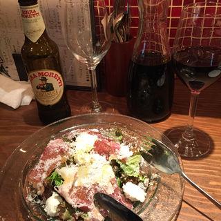生ハムとチーズのサラダ(イタリアンバールスペッロ (Italian Bar Spello))