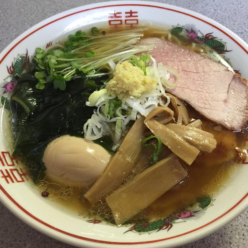 館山生姜醤油ラーメン波間食王