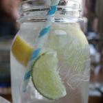 レモンとライムのソーダ