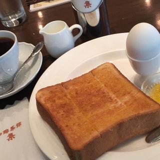 モーニングセット(珈琲茶館 集 イトシアプラザ有楽町店 (コーヒーサカン シュウ))