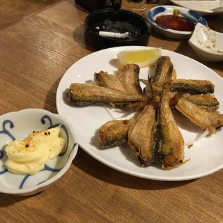 ハタハタの唐揚げ(うおや一丁 新橋店)