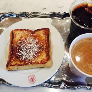 フレンチトースト(アンティコ カフェアルアビス アトレ恵比寿店  (ANTICO CAFFE AL AVIS))