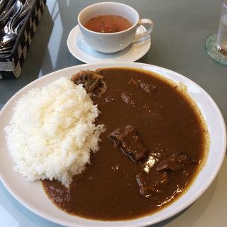 国産 黒毛和牛カレー スープ付(ルー・ド・メール (Loup de mer))