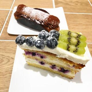 ブルーベリーとキュウイのチーズケーキ(COUTUME ディアモール大阪店 (クチューム))