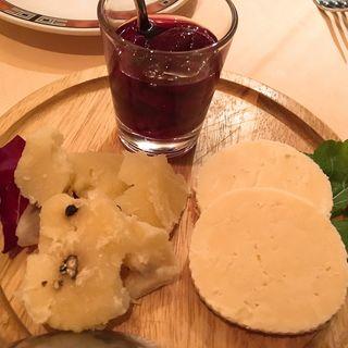 チーズ盛り合わせ(エリオ・ロカンダ・イタリアーナ (Elio Locanda Italiana))