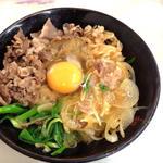 すき焼き丼(初音 )