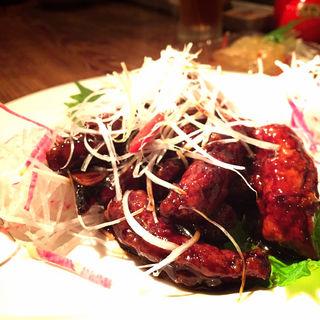 上海式 黒酢酢豚(月世界)