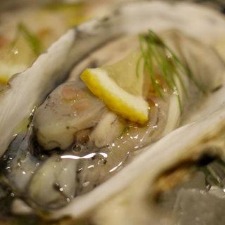 牡蠣のヴァポーレ(SAKE×港町バル)