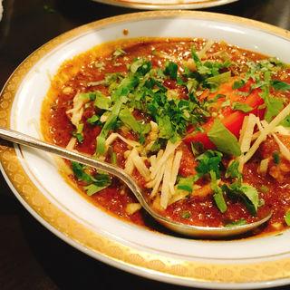 シェフ特製チキンカレー(カーンケバブビリヤニ (Khan kebab biryani))