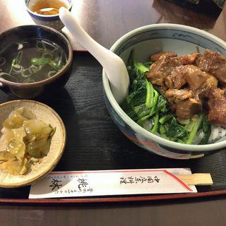 牛バラご飯(桃林)