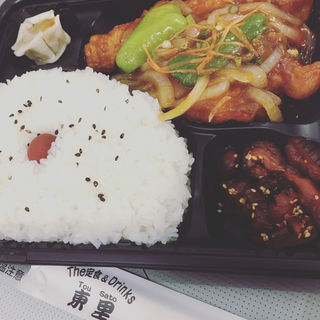 酢豚弁当(The 定食&Drinks 東里)