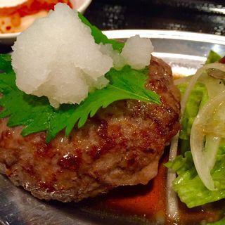 和牛ハンバーグ(高屋敷肉店 )
