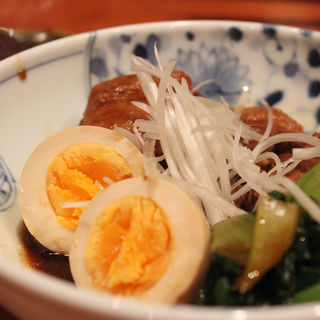 豚バラの味噌角煮(やきとん酒場 新橋とら八)