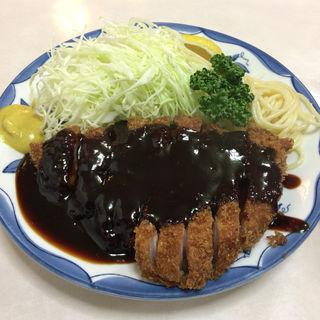 味噌カツ定食(三春屋 )