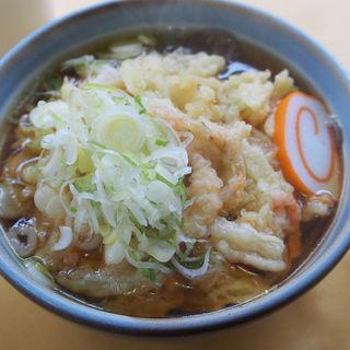 白えびかき揚げそば(レストイン欅 (欅平駅食堂))