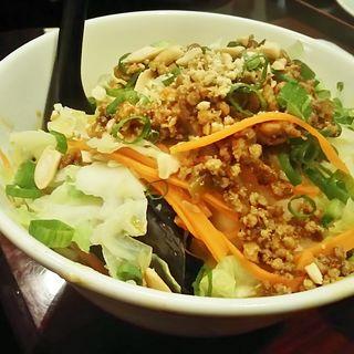 汁なし坦々麺(華龍飯荘 新川店 (カリュウハンソウ))