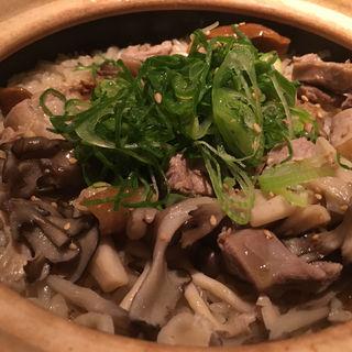 鶏肉と舞茸の土鍋ご飯(新 -ARATA- (アラタ))