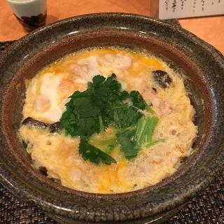 鯛の子とたら白子の卵とじ(いわ月 (イワヅキ))