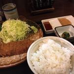 牛カツ定食 130g