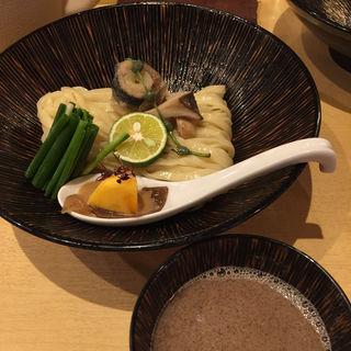 秋刀魚つけそば(限定)(饗 くろ喜 (もてなし くろき/饗 くろ㐂))