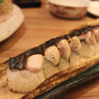 焼き鯖の棒寿司