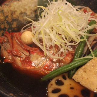 金目鯛の煮付け(魚伝 (ウオデン))