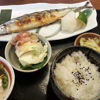 秋刀魚の塩焼き定食(喜八 )