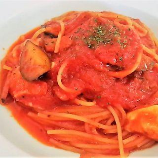 茄子とベーコンのモッツアレラ(ボスケット (Boschetto))