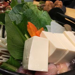 湯豆腐ちゃんこ(魁ちゃん (【旧店名】ちゃんこ魁))