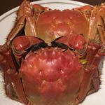 上海蟹の姿蒸し(オス)