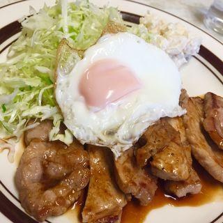 ポークソテーライス(萬金 (まんきん))