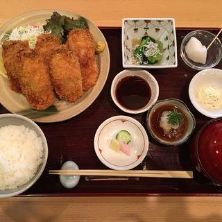 広島産カキフライ タルタルソース ポン酢 ソース(稲荷町高はし )