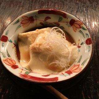 自家製豆腐(松玄 恵比寿店 (まつげん))