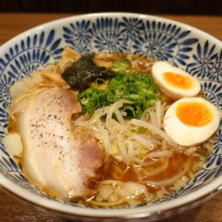 つぼや醤油らーめん+味玉(つぼや 肥後橋店 )